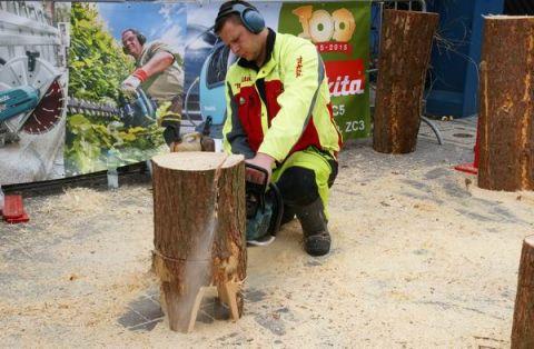 Od 17 do 19 marca podczas targów LAS-EXPO w Targach Kielce będzie można oglądać widowiskowe pokazy rzeźbienia w drewnie, które zaprezentuje między innymi firma Makita