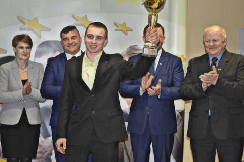 Tomasz Musiał, laureat konkursu Ursus Olimpiada Młodych Producentów Rolnych