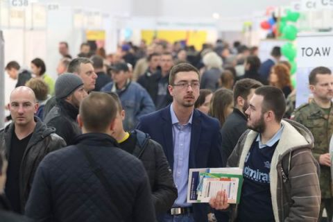 Targi Kielce hosted 2,500 visitors at last years National Employment Fair