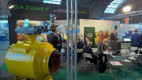 Stoisko firmy GAZOMET podczas kieleckich Targów EXPO-GAS zawsze cieszy się dużym zainteresowaniem zwiedzających