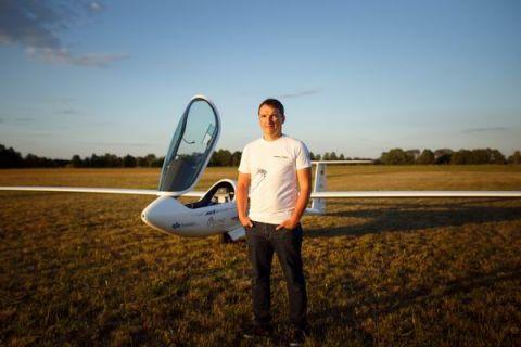 Łukasz Wójcik, pilot szybowcowy, Mistrz Europy i Wicemistrz Świata będzie gościem II edycji Targów Lotnictwa Lekkiego w Targach Kielce 7-8 października 2017 roku