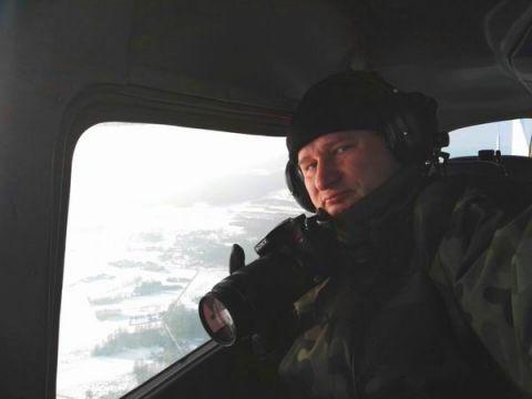 Roman Peczka, specjalizujący się w fotografowaniu samolotów w locie będzie gościem Targów Lotnictwa Lekkiego, Paragiełdy i Fun&Extreme w Targach Kielce
