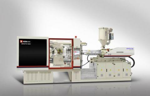 Seria Zenith to innowacyjne maszyny z dwupłytowym układem zamykania, będzie można je zobaczyćna stoisku firmy Hurmak podczas targów PLASTPOL w Kielcach