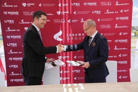 Podczas targów pożarniczych IFRE-EXPO w Kielcach można odwiedzić stoisko firmy Lubawa i dowiedzieć się więcej na temat współpracy polsko-amerykańskiej