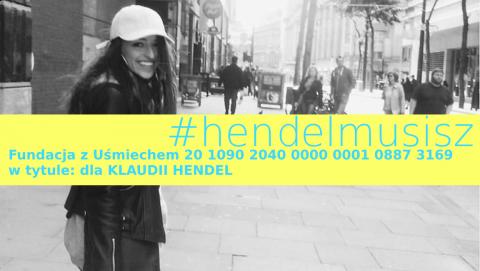 Zachęcamy do pomocy Klaudii Hendel. #hendelmusisz i trzymamy mocno kciuki za powrót do zdrowia!