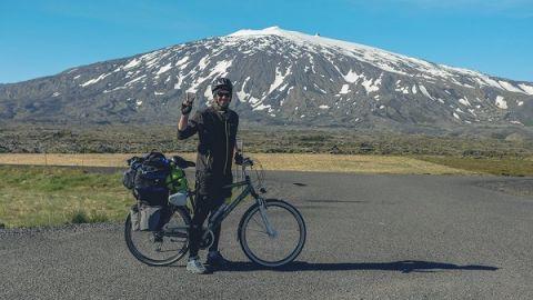 Podczas spotkania Kuba Witek opowie między innymi o tym, jak niedrogo można samodzielnie zorganizować wyprawę rowerową.