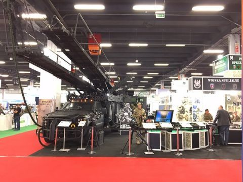 The assault platform is also availabel for the MSPO 2017's Open Days' guests