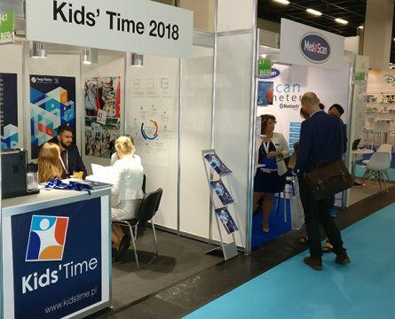 Stoisko targów Kids' Time podczas Kind und Jugend 2017