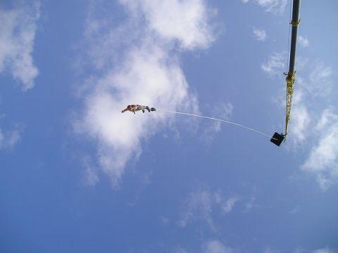 Skok na bungee będzie jedną z wielu atrakcji tegorocznej PARAGIEŁDY