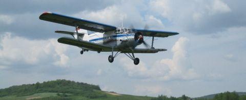 Na Targi Lotnictwa Lekkiego do Targów Kielce można wybrać się wlasnym samolotrm i wylądować na lotnisku w Masłowie. Fot. Aeroklub Kielecki