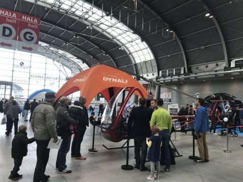 It was many people's decission to call in  Targi Kielce on Saturday morning in order to visit the Light Aviation Expo