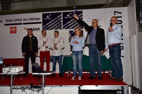 The best pilots of power-paragliders get together in Targi Kielce