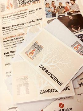 Zaproszenia na koncert galowy festiwalu można odbierać w Targach Kielce