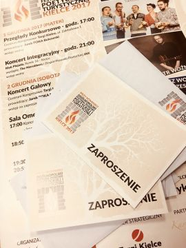 Invitations for the gala concert can be collected at Targi Kielce
