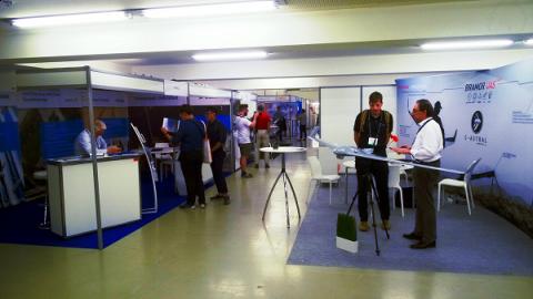 Targi IDEa były promowane podczas Commercial UAV Expo Europe w Brukseli