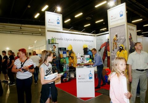 The 2017's KIELCE WORK SAFETY-EXPO stands proved to be very popular among the expo  visitors
