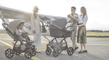 The multifunctional Aero Tutis prams& stroller are available in the following versions:  2 in and 3 in 1