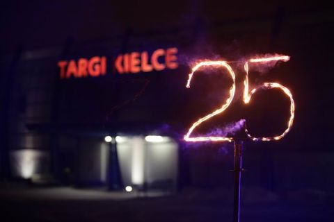 09.02.2018 THE UNFORGETTABLE CELEBRATIONS OF THE TARGI KIELCE'S 25TH ANNIVERSARY