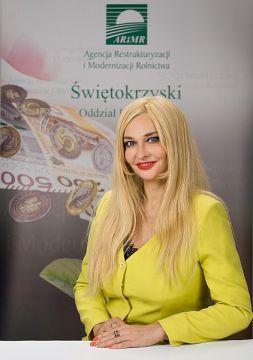 Dyrektor Świętokrzyskiego Oddziału Regionalnego ARIMR w Kielcach Małgorzata Erlich-Smurzyńska