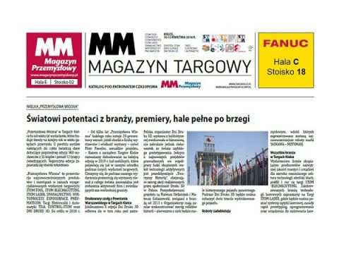 """""""MM Magazyn Targowy"""" już zapowiada """"Przemysłową Wiosnę"""""""