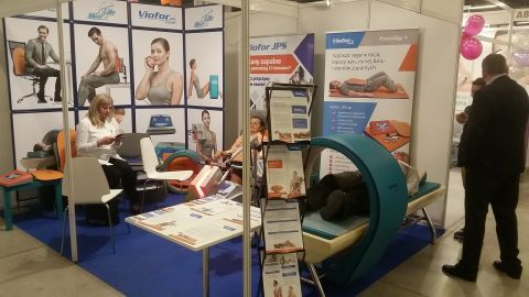 The Med & Life expo stand is located in the A Expo Hall of the Kielce exhibition and congress centre