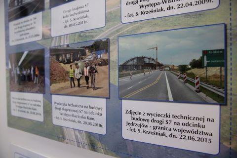 Wystawa upamiętnia 70 lat działalności SIiTK Oddziału w Kielcach