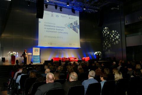 Konferencja dotycząca kształcenia zawodowego, Targi Kielce 2017 r.
