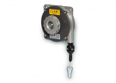 PLASTPOL 2018 is also a showcase for balancers - mass balance weights for  pneumatic and power tools meant to improve work conditions by making it  easier and safer