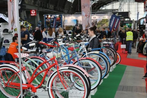 Podczas targów Kielce Bike Expo można spotkać różne rowery
