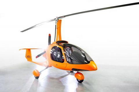 Wiatrakowiec TaiFun pojawi się podczas Targów Lotnictwa Lekkiego na stoisku firmy Trendak