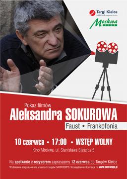 Zapraszamy na bezpłatny pokaz filmów Aleksandra Sokurowa