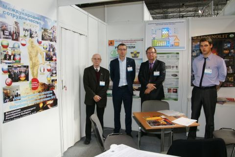 Representatives of the Association at last year's edition of the METAL expo in Targi Kielce