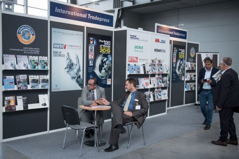 Media point at the previous METAL edition - 2016