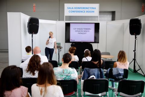 Agnieszka Socha's lecture generated an avid interest among  2018 Fashion for Kids visitors