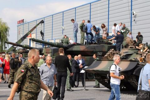 Wystawę polskich sił zbrojnych w 2017 roku , podczas Dni Otwartych MSPO, odwiedziło ponad 16 tysięcy osób.