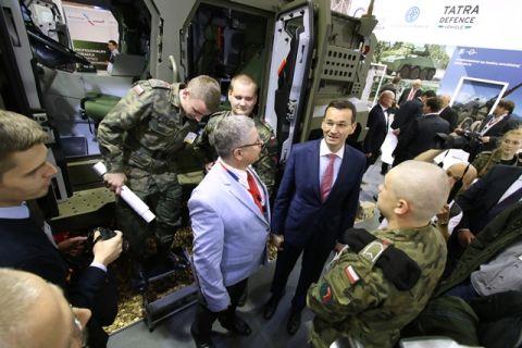 Zarówno WSF jak i MSPO to spotkania przedstawicieli rządowych z decydentami wojskowymi