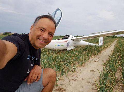 źródło - archiwum prywatne. Sebastian Kawa będzie gościem Targów Lotnictwa Lekkiego w Targach Kielce.