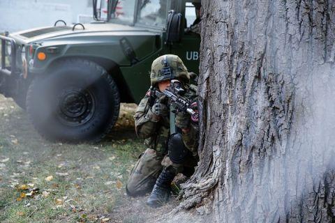 Pokazy Dynamiczne Wojska Polskiego podczas MSPO 2018