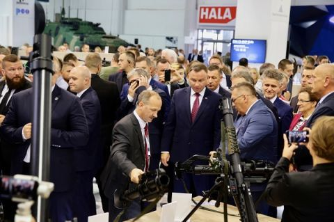 This is already the third visit of President Duda at the MSPO