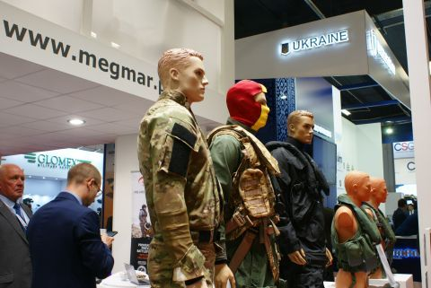 The MSPO exhibition offers a unique opportunity to have a really close look at professional military  equipment
