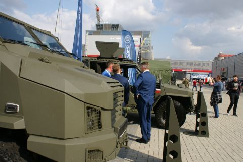 The XXVI International Defence Industry Exhibition is a great opportunity to see professional military  equipment and iconic STAR vehicles