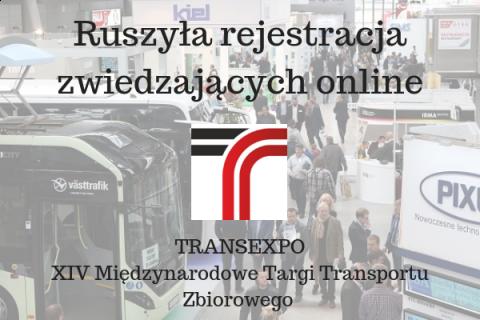 Transexpo ruszyło z rejestracją online