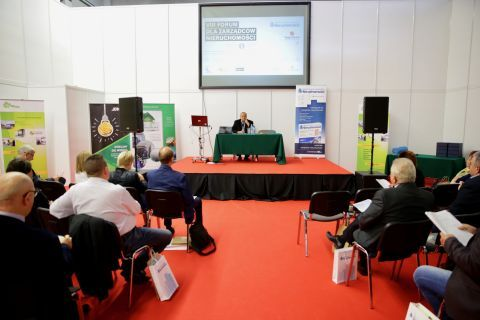 The two-day Property Management Forum was held at Targi Kielce - this is the eighth edition of the  meeting