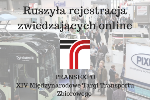 TRANSEXPO ONLINE REGISTRATION HAS STARTED