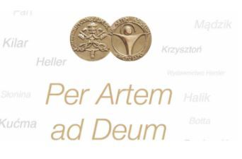 PER ARTEM AD DEUM 2019'S MEDAL - OPEN FOR CANDIDATES TO BE AWARDED WITH THE MEDAL
