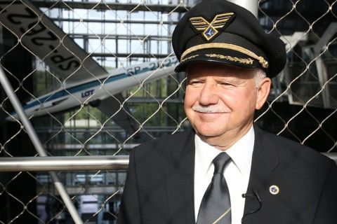 Captain Jerzy Makula will be the guest of honour at the Targi Kielce Light Aviation Expo for the second time