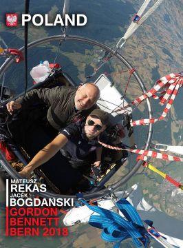 Mateusz Rękas i Jacek Bogdański, we wspaniałym stylu zdobyli w 2018 roku największe balonowe trofeum na świecie. Będą gośćmi Targów Lotnictwa Lekkiego w Kielcach.