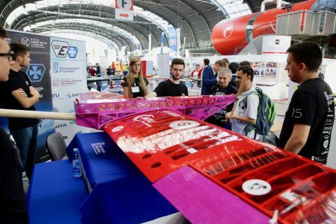 During the Light Aviation Expo 2018 is the showcase for more than 50 companies from Poland, Germany and  Italy