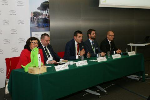 Konferencja firmy Solaris podczas targów Transexpo