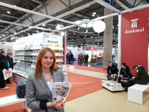The Targi Kielce team at the German trade fair encourages to participate in 2019's Expositio